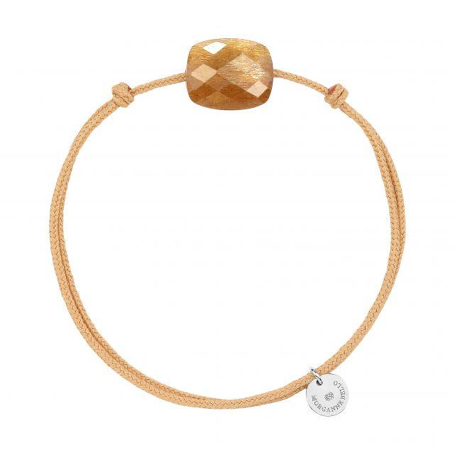 Bracelet cordon Pierre de Soleil