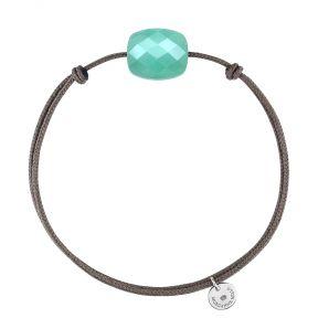 Bracelet cordon Amazonite