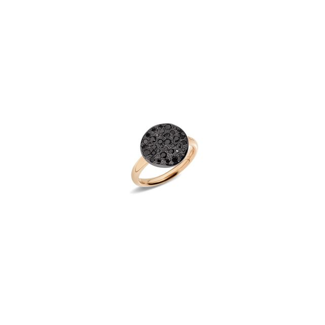 Bague Sabbia Diamants Noirs