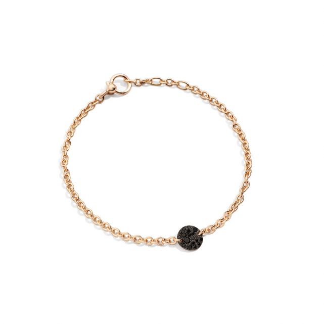 Bracelet Sabbia Diamants Noirs