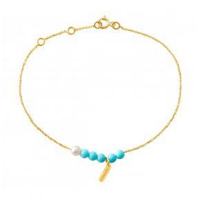 Bracelet Blue Rosary