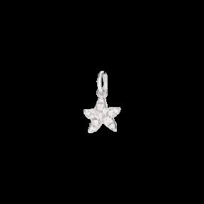 Pendentif Etoile Diamants Blancs