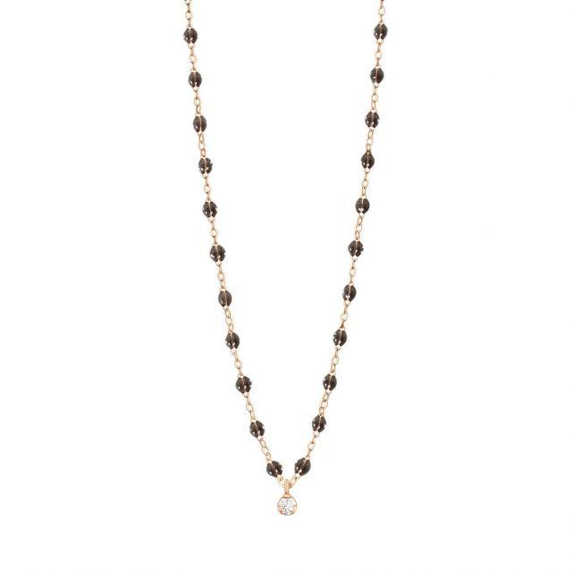 Collier quartz Gigi Suprême 1 diamant