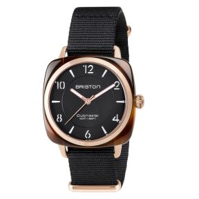 Montre Clubmaster Chic Acétate Gold