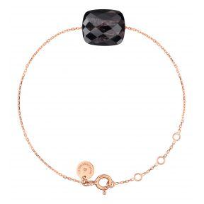 Bracelet or rose coussin Oversize